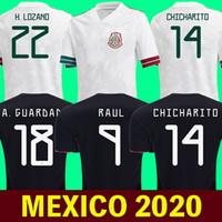 2020 멕시코 축구 유니폼 Lozano Chicharito Raul 축구 셔츠 2020 Dos Santos 멕시코 Camisetas 드 Futbol Layun Maillot 드 발