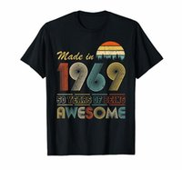 Made in 1969 T- Shirt Vintage 51th Birthday 51 years old Gift...
