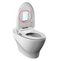 WC eléctrico esterilizador ultravioleta de la lámpara de ozono luz de la lámpara Inicio baño desinfectante UV Cubo de la basura Desinfección purificador de aire de 3,7 V