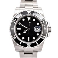 남성 시계 116610 최고 품질 40mm 세라믹 베젤 2813 자동 기계식 시계 스테인레스 스틸 방수 발광 사파이어 손목 시계