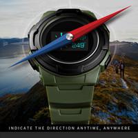 SKMEI Digital-Uhr-Mann-Multifunktions-Sport-Armbanduhr-Kalorienberechnung Wecker Kompass Herrenuhr montre homme 1439
