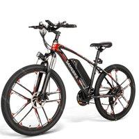 Samebike My-SM26 Электрические велосипеды Взрослые 2 Колесовые Электрики Велосипед 48 В 8ah 30 км / ч Вертостная скорость 80 км Пробега Горный E-Bike US Canada Eu UK Warehouse