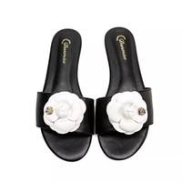 Brand New Wome Slide Sandal Floral Brocart Hommes Slipper Engrenages Basculements Femmes Femmes Slip-pantoufle de causalité de plage à rayures avec boîte US5-11