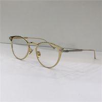 مصمم أزياء جديدة النظارات البصرية إطار معدني 0021 عين القط الرجعية الحديثة أسلوب بسيط عدسة شفافة يمكن أن يكون وصفة طبية عدسة واضحة