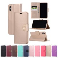 SONATA Diary Wallet PU Flip Leather Case TPU Cover For iPhon...