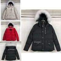 Manera de calidad superior MEN invierno por la chaqueta de los hombres Mantener caliente de la capa de Down Parkas capucha del invierno / Parka hombres ropa de abrigo chaqueta del diseñador Canadá