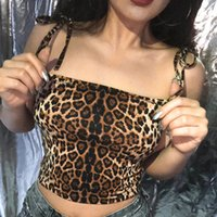 Camisole Sexy Fashion Womens Casual Crop Tops Leopard Print ...