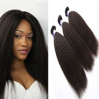 Бразильский кудрявый прямые пучки натуральный цвет 100% дешевые человеческие волосы пучки 8-30 дюймов Реми наращивание волос 3 шт.