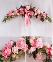 가짜 꽃 여신 축제 수제 유럽 시뮬레이션 임계 화환 벽 장식 매달려 벽 장식 꽃 EEA408