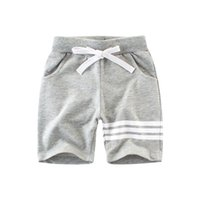 Children Casual Sports Shorts Striped Boys clothes 100%Cotto...