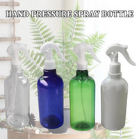 500ML البلاستيك رذاذ زجاجات المياه تصفيف الشعر البخاخ الرطوبة البخاخة الرذاذ رذاذ زجاجات الشعر أداة صالون