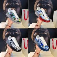 suela gruesa-2020 de lujo de zapatos transparentes de caucho en vacío mejorada explosivo Edición zapatos de moda del diseñador del amortiguador del zapato cristalino informal Bottom