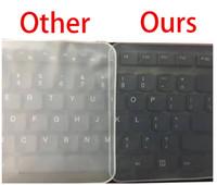 الفيلم الواقي للوحة المفاتيح اللاسلكية ضد الماء 15 لوحة مفاتيح حاسوبية تغطي 15.6 17 14 لوحة مفاتيح دفترية تغطي فيلم سيليكون مضاد للغبار