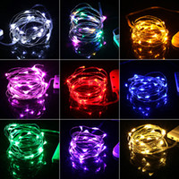 HaoXin 2M Garland Decorative Light Copper Wire CR2032 Battery Operated Christmas Wedding Party Decoration LED String Fairy Lights