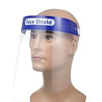 Máscaras 10PCS rosto cheio Anti-gotas Anti-fog Dust-proof Máscara Facial Protetor Capa protetora transparente face Protector Segurança