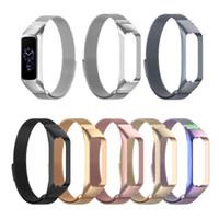 Милан петли браслет из нержавеющей стали ремешок для часов для Samsung Galaxy Fit-e Smart Watch Замена ремешок аксессуары для SM-R375