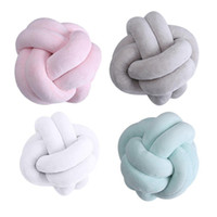 Creative 18cm Coussin noueuse boule Coussin taille Coussin Accueil Canapé-lit Décoration d'intérieur Poupées Jouets pour enfants