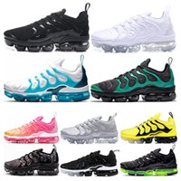 Newest Men Running Shoes Triple White black Bumblebee Lemon ...