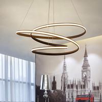 Современные светодиодные подвесные люстры лампы для столовой гостиной lampadario moderno блеск люстра освещение AC85-265V
