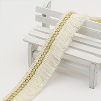 28 мм бежевый хлопчатобумажный чешуйки позывной кружевной отделкой ленты в гомотексидную одежду занавес декор DIY швейные аксессуары