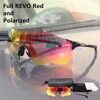 Evzero بالألوان الكاملة عدسة الاستقطاب TR90 الرياضة النظارات الرجال MTB طريق جبل دراجات ركوب الدراجات نظارات شمسية تشغيل الصيد