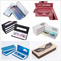 3D Mink Eyelash Package Boxes False Eyelashes Packaging Empt...