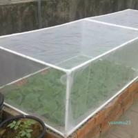 Toptan-Kolay Kullanım Bahçe Sebze Kuş Net Netleştirme Aracı Bitki Koruma Mesh Böcekler Bariyer Pest Control Açık Sera Ağacı Bitkileri