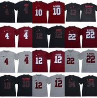 13 TUA TAGOVAILOA ALABAMA CHARSSOL TIDE JERRY JEUQY AJ MCCARRON JOE NOMATH NAJEE N. HARRIS DAMIEN HARRIS NCAA футбольные майки колледжа двойной сшиты