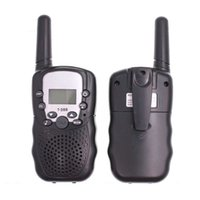2pcs talkie-walkie enfants Radio communicateur radio mobile VOX FRS / GMRS walkie lampe led poche cadeau