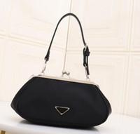 Designer Nylon Gold Package Bag Classic Luxury Accessories F...