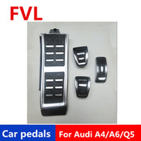 دواسات السيارة لأودي A4 A5 A6 A7 Q5 مسرع دواسة دواسة الفرامل مسند دواسة