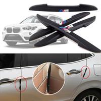 Для BMW X1 автомобиля боковая дверь край гвардии бампер отделка протектор пвх наклейки 4 шт.