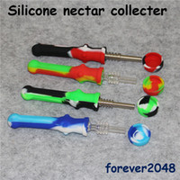Silicone Nectar Collector With Titanium Tip Quartz Tip Food ...