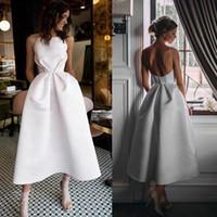 vestido de fiesta fiesta la chica de moda la falda del vestido blanco 2019 nueva alta calidad de raso vestido de noche formal en la parte larga
