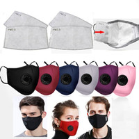 Hot Sale Respiration valve Mouth Mask 1 mask+ 2 Filters Dust ...