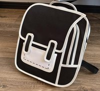HBP Designer Unisex Cartoon Cartoon Two-dimensional Backpack Personality Style Backpack Student Schoolbags High Quality-
