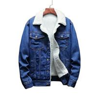 Новые 2019 Женщины Basic пальто зима джинсовой куртки женщин Теплая шерсть подкладка для Jeans куртки Женский Bomber пальто chaqueta Mujer