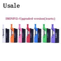 IMINIV2 - модернизированная версия (icarts) Комплект с аккумулятором 650 мАч, 1,0 мл, толстый масляный картридж, 1,2 Ом, головка катушки Imini V2, 100% оригинал
