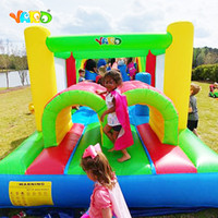 Free Shipping Bounce House Inflatable Obstacle Course Jumper...