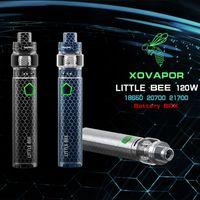 2019 XOVAPOR küçük arı 120 w 18650 * 20700 * 21700 Pil 510 Konu Ağırlığı 350g Max vape e sigara Küçük arı kiti