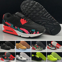 2018 Cheap Men Sneakers Shoes Classic 90 Mens Running Shoes ...