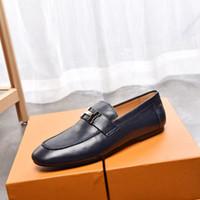 Hot Sale-Kleides Hochzeit Schuh Mode formalen Anzug Business Office Schuh Mokassins Low Heel H Entwurf Trensen Loafers Oxfords, 38-45