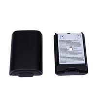 Couvercle de batterie en plastique Batterie Paquet de réparation Pièce de réparation Pièce de rechange pour Xbox 360