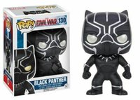2019 Funko Pop! Captain America 3: Civil War Black Panther V...