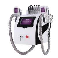 새로운 휴대용 Cryolipolysis 지방 냉동 슬리밍 기계 Cryotherapy 초음파 RF 지방 흡입 Lipo 레이저 아름다움 장비 UPS DHL
