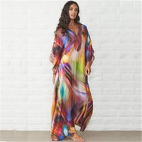 Colore Loose Women Beach Dress Designer Fashion Trend Plus Size casuale contrasto con scollo a V abito maschile a maniche lunghe vestiti dei vestiti