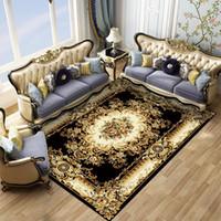 Europeu 7 estilos Arte persa tapete de área para sala de estar anti-derrapante Tapete Cozinha Pavimento Mat exterior Parlor Mat Home Decor