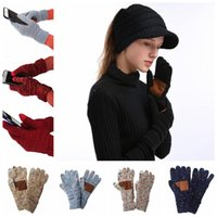 14 Colors Knitted Gloves Capacitive Touch Screen Gloves Wome...
