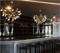 الحديث الفن ديكور مصابيح تركيبات الصمام الهراء الثريا ضوء شجرة فرع المطبخ مطعم بار بريق صالون