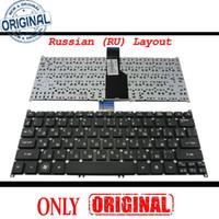 Teclado novo e original do notebook para Acer Aspire Ultrabook S3-391 S3-951 S5 S5-391, um 756, Travelmate B1 B113 preto russo RU